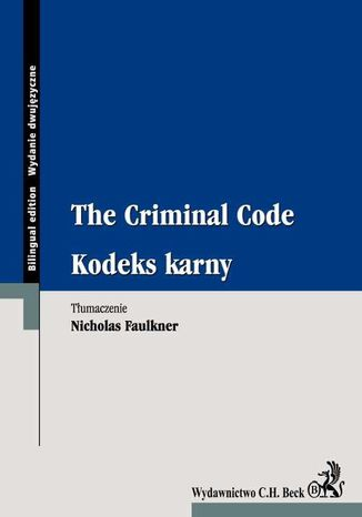 Ebook Kodeks karny. The Criminal Code