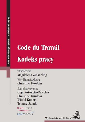 Ebook Kodeks pracy. Code du Travail