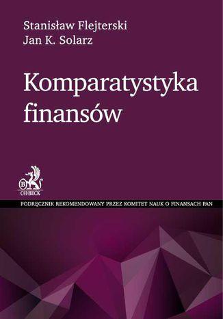 Okładka książki Komparatystyka finansów