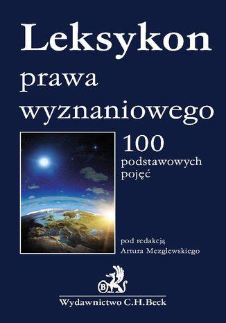 Okładka książki/ebooka Leksykon prawa wyznaniowego