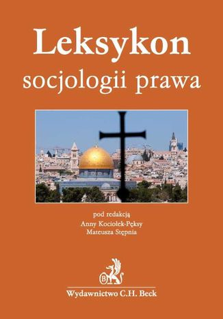 Okładka książki/ebooka Leksykon socjologii prawa