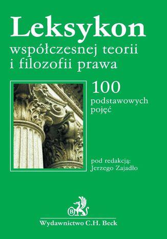 Okładka książki Leksykon współczesnej filozofii prawa