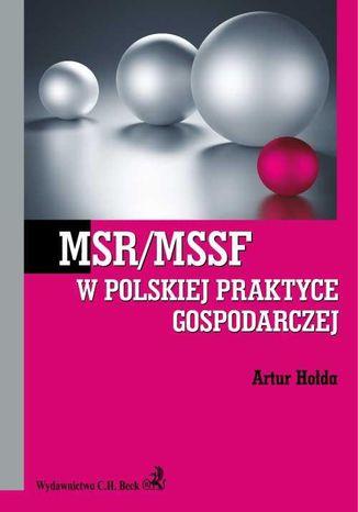Okładka książki/ebooka MSR/MSSF w polskiej praktyce gospodarczej