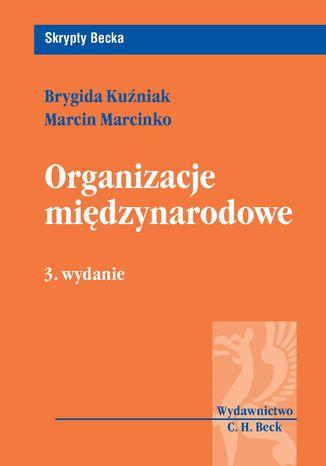Okładka książki Organizacje międzynarodowe