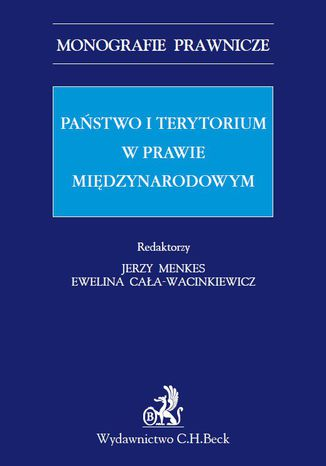 Okładka książki Państwo i terytorium w prawie międzynarodowym