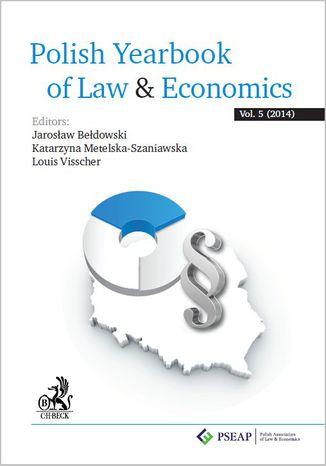 Okładka książki Polish Yearbook of Law&Economics Vol. 5 (2014)