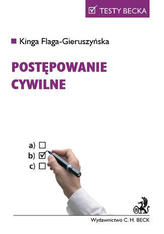 Okładka książki/ebooka Postępowanie cywilne