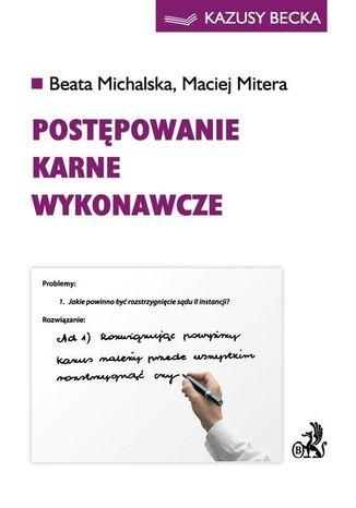 Okładka książki Postępowanie karne wykonawcze