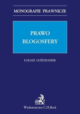 Okładka książki/ebooka Prawo blogosfery