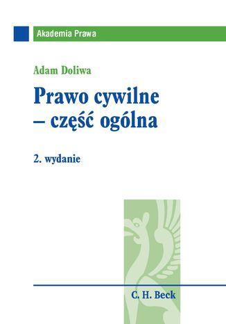 Okładka książki/ebooka Prawo cywilne - część ogólna
