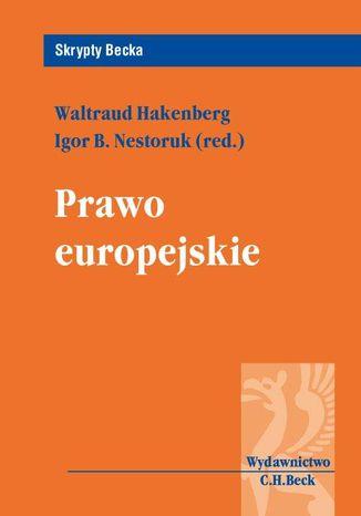 Okładka książki Prawo europejskie