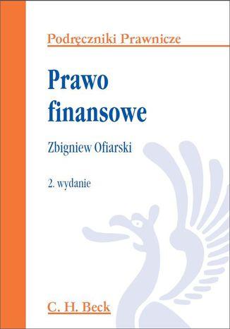 Okładka książki Prawo finansowe