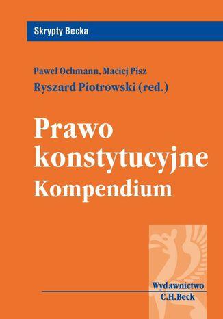 Okładka książki/ebooka Prawo konstytucyjne. Kompendium
