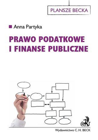 Okładka książki Prawo podatkowe i finanse publiczne