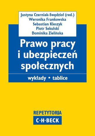 Okładka książki/ebooka Prawo pracy i ubezpieczeń społecznych. Wykłady. Tablice