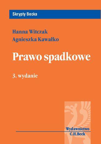 Okładka książki/ebooka Prawo spadkowe