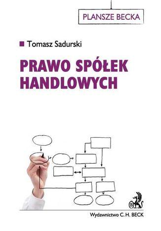 Okładka książki/ebooka Prawo spółek handlowych