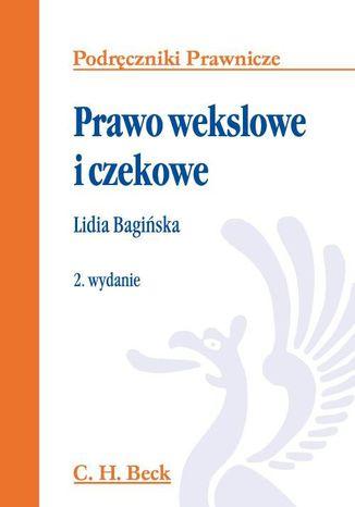 Okładka książki/ebooka Prawo wekslowe i czekowe