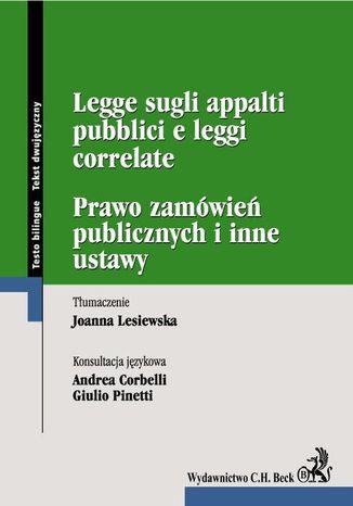 Okładka książki Prawo zamówień publicznych. Legge sugli appalti pubblici e leggi correlate