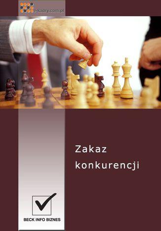 Okładka książki Zakaz konkurencji