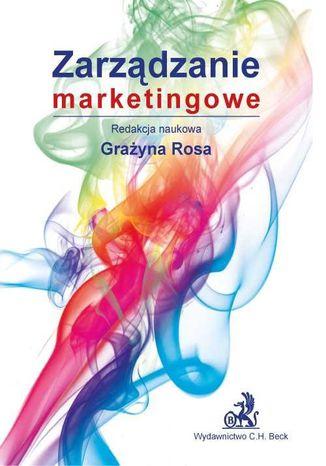 Okładka książki/ebooka Zarządzanie marketingowe