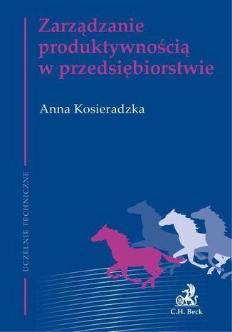 Okładka książki Zarządzanie produktywnością w przedsiębiorstwie