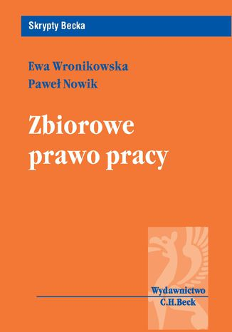 Okładka książki/ebooka Zbiorowe prawo pracy