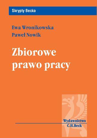 Okładka książki Zbiorowe prawo pracy