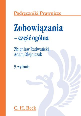 Okładka książki/ebooka Zobowiązania - część ogólna