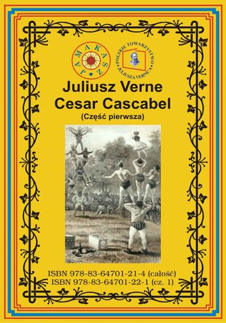 Okładka książki Cesar Cascabel. Część pierwsza