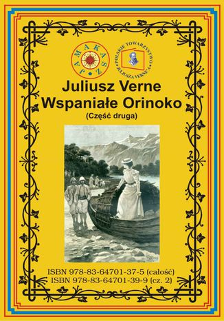 Okładka książki Wspaniałe Orinoko. Część druga