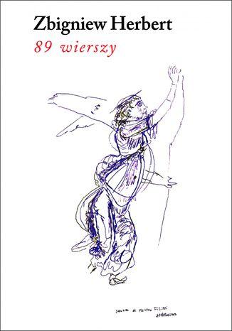 Okładka książki 89 wierszy