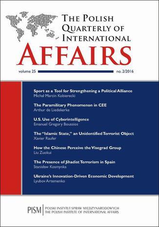 Okładka książki The Polish Quarterly of International Affairs 2/2016