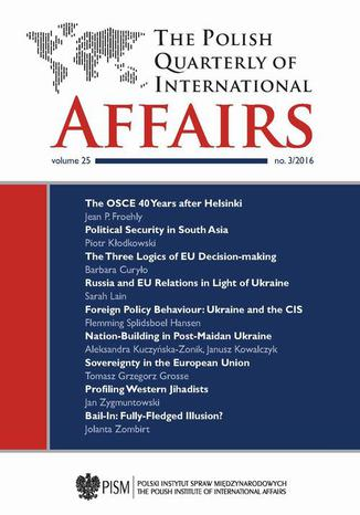 Ebook The Polish Quarterly of International Affairs 3/2016