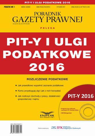 Okładka książki/ebooka PIT-y i ulgi podatkowe 2016