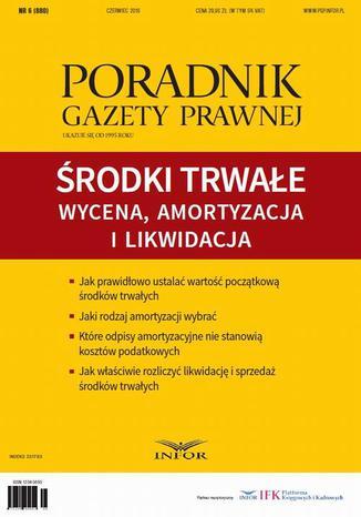 Okładka książki/ebooka Środki trwałe: wycena, amortyzacja i likwidacja