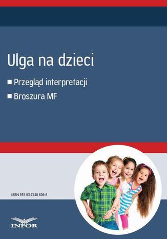Okładka książki Ulga na dzieci