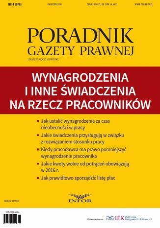 Okładka książki Wynagrodzenia i inne świadczenia  klasyfikacja i rozliczanie