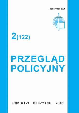 Okładka książki/ebooka Przegląd Policyjny 2 (122)/2016
