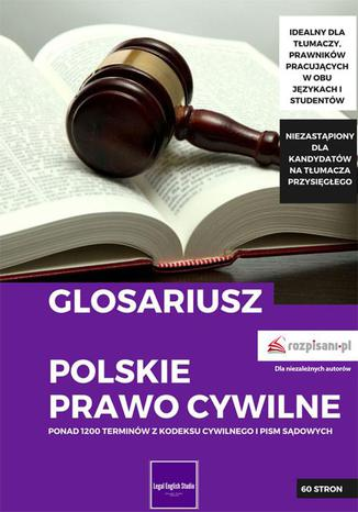 Okładka książki/ebooka Glosariusz. Polskie prawo cywilne