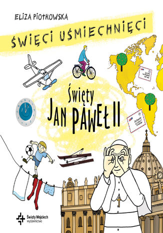 Okładka książki Święty Jan Paweł II