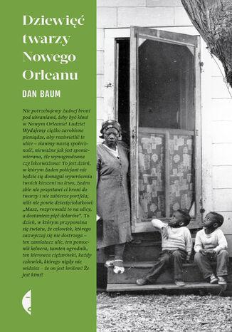 Okładka książki/ebooka Dziewięć twarzy Nowego Orleanu