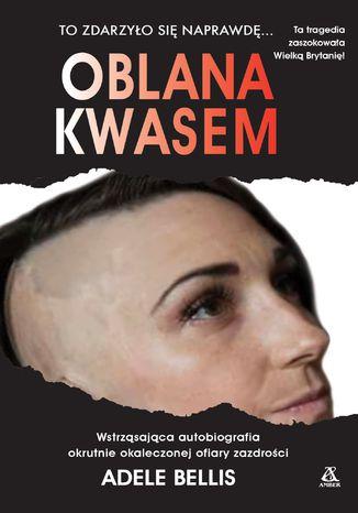 Okładka książki Oblana kwasem