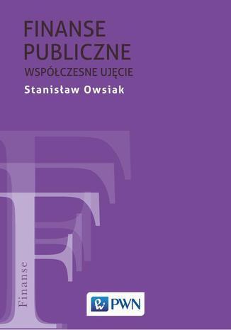 Okładka książki Finanse publiczne. Współczesne ujęcie