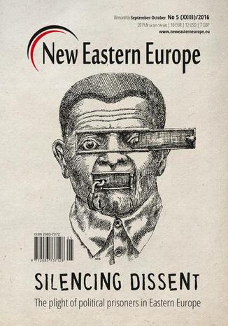 Okładka książki New Eastern Europe 5/2016. Silencing dissent