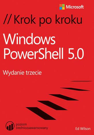 Okładka książki/ebooka Windows PowerShell 5.0 Krok po kroku