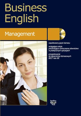 Okładka książki/ebooka Business English Management