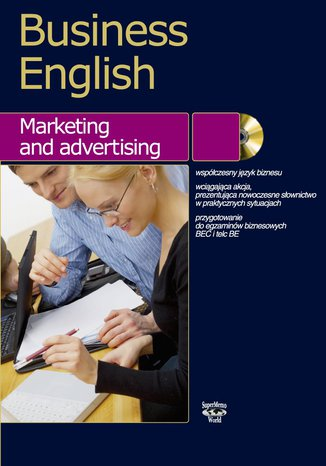Okładka książki/ebooka Business English Marketing and advertising