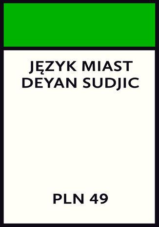 Okładka książki Język miast