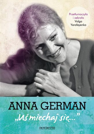 Okładka książki Anna German: Uśmiechaj się